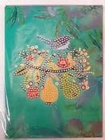 Diamond Painting XS4-BLOEM wenskaart 11 vogeltje