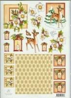 A4 Knipvel Marij Rahder 2459 Bambi/hellebours