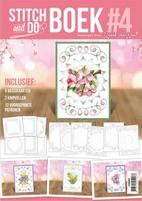 Stitch and Do STDOBB004 A6 Boek 4 Flowers Jeannine