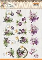 Marieke Spring Delight 3D Knipvel CD11431 Purple Crocus