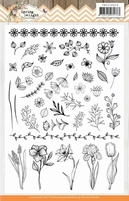 Marieke Spring Delight PMCS10043 Clear Stamps