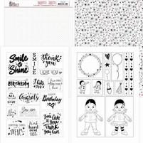 Yvonne Petit Pierrot YCMC1007 Mica Sheets