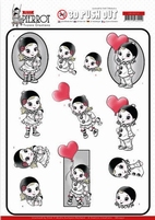 Yvonne Petit Pierrot 3D Pushout SB10432 With Love