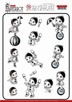 Yvonne Petit Pierrot 3D Pushout SB10433 At the Circus
