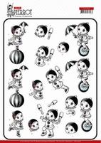 Yvonne Petit Pierrot 3D Knipvel CD11468 At the Circus