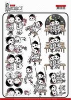 Yvonne Petit Pierrot 3D Knipvel CD11465 Happy Together