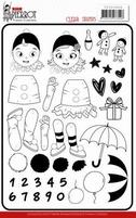Yvonne Petit Pierrot YCCS10056 Clear Stamps