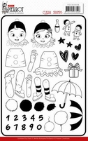 Yvonne Petit Pierrot YCCS10056 Clear Stamps