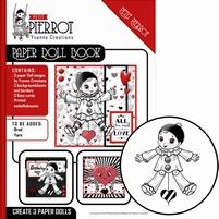 Yvonne Petit Pierrot YCPD001 Paper Doll Book