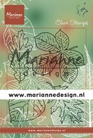 MD Clear stamps TC0876 Tiny's leaves set