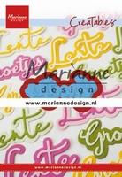 MD Creatable LR0646 Groetjes