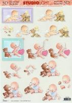 A4 Knipvel Studio Light STSL566 Baby/geboorte