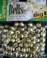 Kattebelletjes Darice 1099-14 Goud kleur