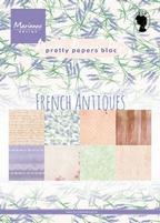 MD Pretty Paper Bloc PK9167 French Antiques