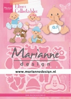 MD Collectables COL1479 Eline's baby's/geboorte