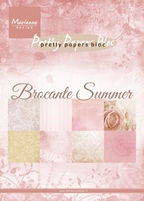 MD Pretty Paper Bloc PK9166 Brocante Summer