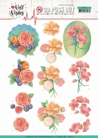 Jeanine's Art Well Wishes 3D Pushout SB10428 A Bunch of