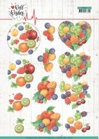 Jeanine's Art Well Wishes 3D Knipvel CD11460 Fruits