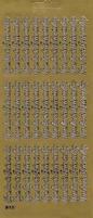 Tekststicker Peel-off 1097 Van Harte Beterschap