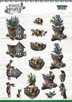 Amy Design Botanical Spring 3D Knipvel CD11470 Lente