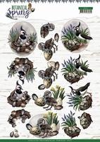 Amy Design Botanical Spring 3D Knipvel CD11471 Lapwing