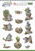 Amy Design Botanical Spring 3D Pushout SB10435 Lente
