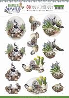 Amy Design Botanical Spring 3D Pushout SB10436 Lapwing