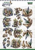 Amy Design Botanical Spring 3D Knipvel CD11472 Best Friends