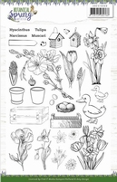 Amy Design Botanical Spring ADCS10066 Clear Stamps