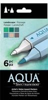 Spectrum Noir Aqua Markers SPECN-AQ6-LAN Landscape
