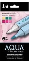 Spectrum Noir Aqua Markers SPECN-AQ6-BOT Botanicals