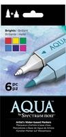 Spectrum Noir Aqua Markers SPECN-AQ6-BRI Brights