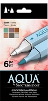 Spectrum Noir Aqua Markers SPECN-AQ6-EAR Earth