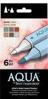 Spectrum Noir Aqua Markers SPECN-AQ6-EAR Earth