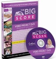 Crafter's Companion Big Score instructie DVD