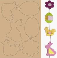 MDF Crea 953100/010 Uitdrukbare figuurtjes lente