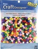 Darice Pony beads 06121-2-20 opaque multi