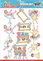 Yvonne Bubbly Girls Party 3D Pushout SB10439 Let's have fun