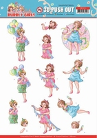 Yvonne Bubbly Girls Party 3D Pushout SB10441 Party Time