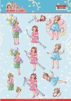 Yvonne Bubbly Girls Party 3D Knipvel CD11478 Party Time