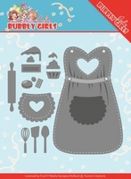 Yvonne Bubbly Girls Party Dies YCD10201 Apron/short