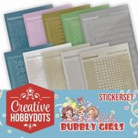 Yvonne Bubbly Girls Party CHSTS001 Sticker set Creative