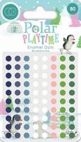 Enamel dots Craft Consortium CCADOT006 Polar Playtown