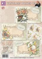 Creatief Art SWK85-0114 Vintage boxes 03