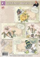 Creatief Art SWK85-0113 Vintage boxes 02