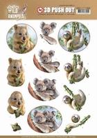 Amy Wild Animals Outback 3D Pushout SB10444 Koala/luiaard