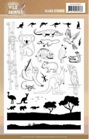 Amy Wild Animals Outback ADCS10067 Clearstamp