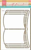 MD Craft Stencil PS8061 Open book/boek