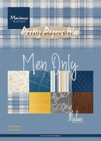 MD Paperpad PK9169 Men only by Marleen