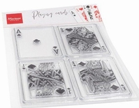 MD Clear Stamps CS1055 Playing cards/kaart spelen